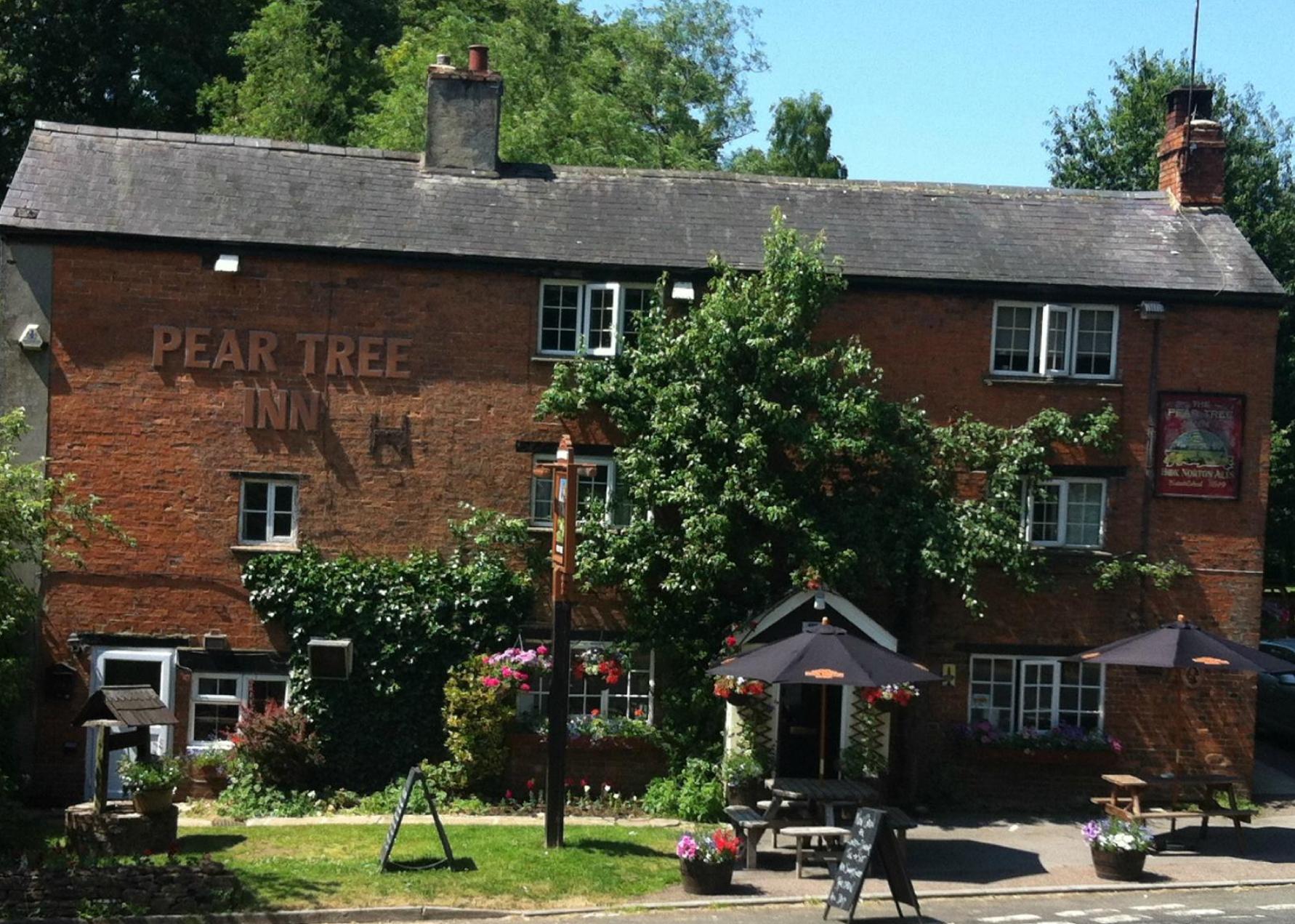 Pear Tree Inn front entrance